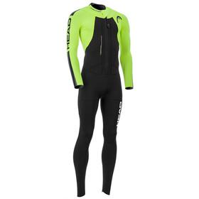 Head Swimrun Rough 4.3.2 Wetsuit Men Black/Yellow